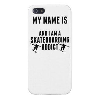 Skateboarding Addict iPhone 5 Cover
