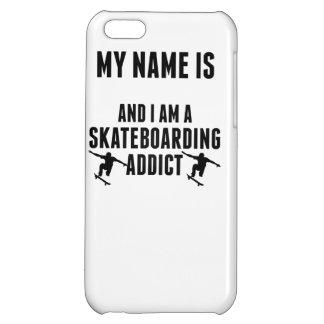 Skateboarding Addict iPhone 5C Covers
