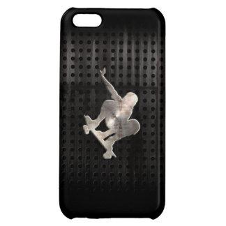 Skateboarding; Cool Black iPhone 5C Cases