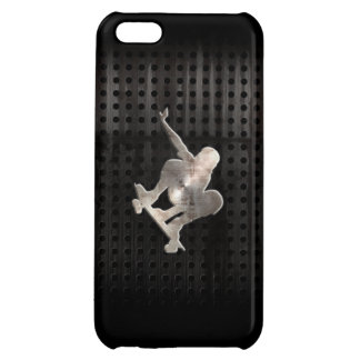 Skateboarding; Cool Black Cover For iPhone 5C