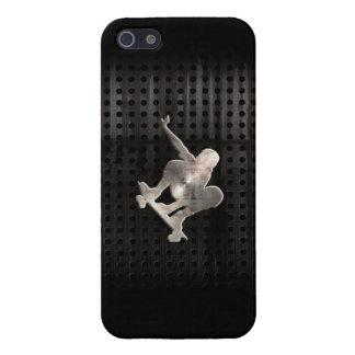 Skateboarding; Cool Black Case For iPhone 5/5S