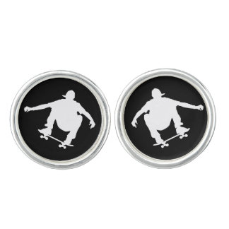 Skateboarding Cuff Links