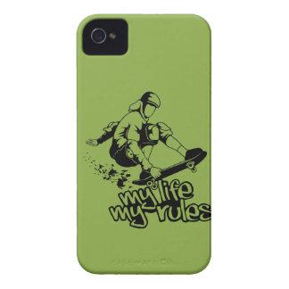 Skateboarding custom Blackberry case