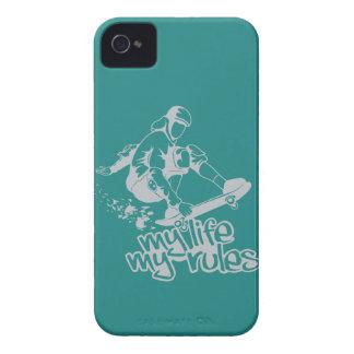 Skateboarding custom iPhone case