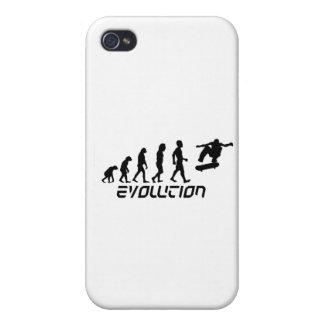 Skateboarding Evolution iPhone 4/4S Covers