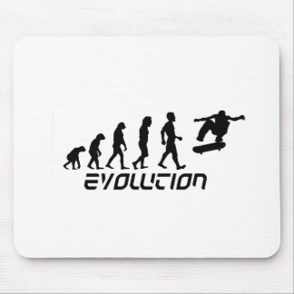 Skateboarding Evolution Mouse Pad