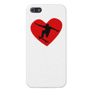 Skateboarding Heart Case For iPhone 5/5S