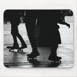 Skateboarding in Central Park, NYC Mouse Pad