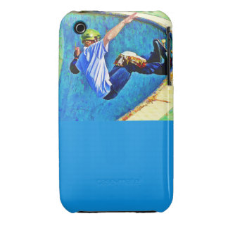 Skateboarding in the Bowl iPhone 3 Case-Mate Cases