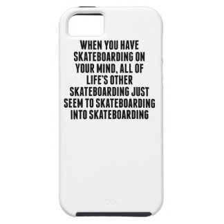 Skateboarding On Your Mind iPhone 5 Case