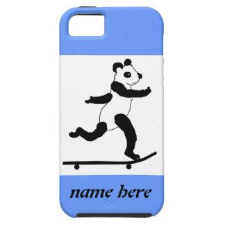 Skateboarding Panda iPhone Cases iPhone 5 Case
