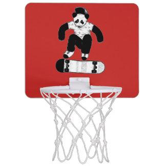 Skateboarding Panda Mini Basketball Hoop