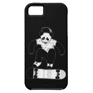 Skateboarding Panda Tough iPhone 5 Case
