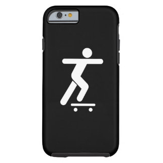 Skateboarding Pictogram iPhone 6 Case Tough iPhone 6 Case
