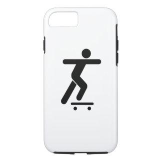 Skateboarding Pictogram iPhone 7 Case