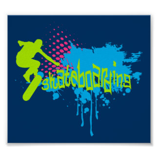 Skateboarding Posters