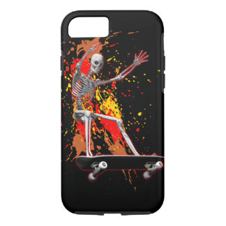 Skateboarding Skeleton iPhone 7 Case