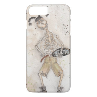 Skateboarding Skeleton iPhone 7 Plus Case