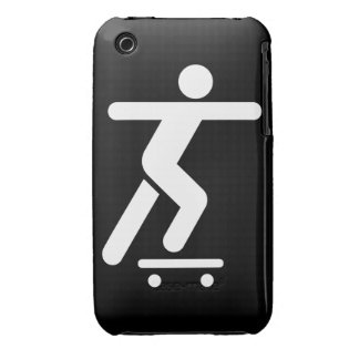 Skateboarding Symbol Case-Mate iPhone 3 Cases