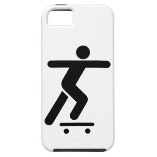 Skateboarding Symbol iPhone 5 Case