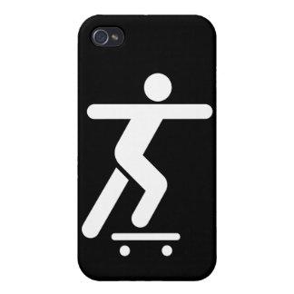 Skateboarding Symbol iPhone 4/4S Cases