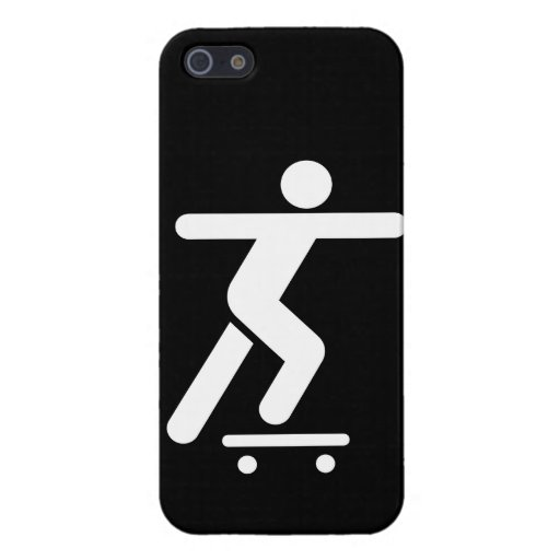 Skateboarding Symbol iPhone 5 Cover