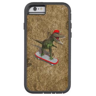 Skateboarding T-Rex iPhone 6 Case