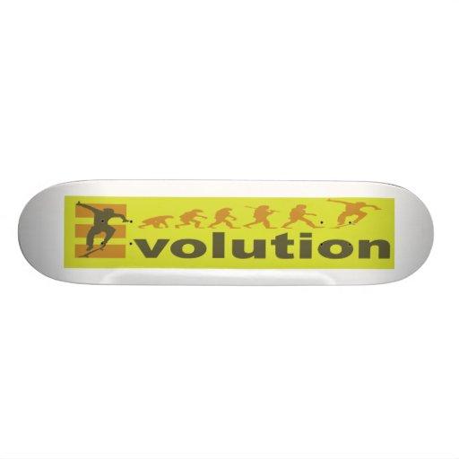 Skateboarding the Ultimate in Evolution Skate Decks