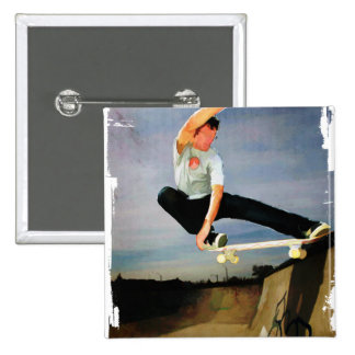 Skateboarding the Wall Buttons