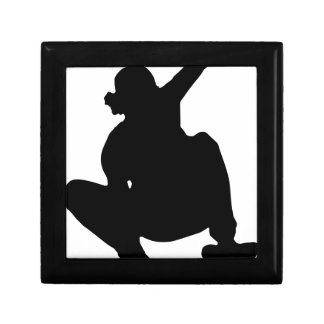 Skateboarding Trick Silhouette Gift Box