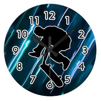 Skateboarding Wall Clocks
