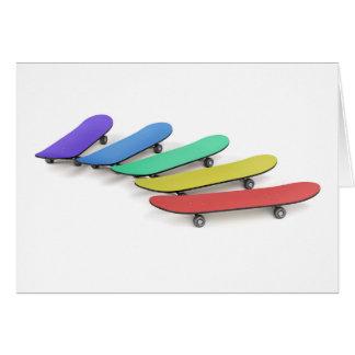 Skateboards Card