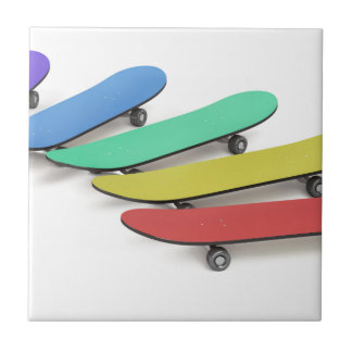 Skateboards Ceramic Tile