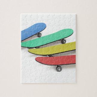 Skateboards Jigsaw Puzzle