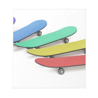 Skateboards Notepad