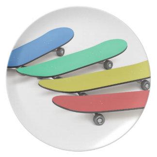 Skateboards Plate