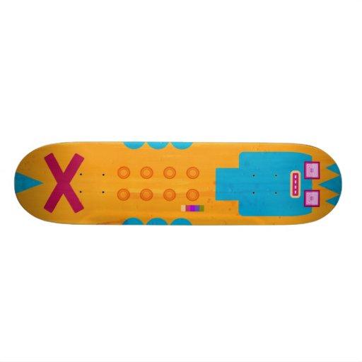 Skatebot v3.0 custom skateboard