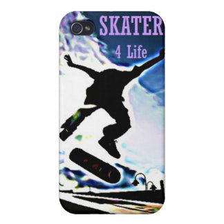 Skater 4 Life iPhone 4 Case