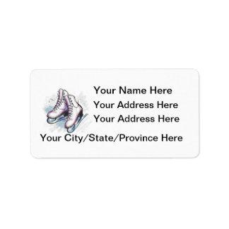 Skater Address Label-Customise It! Label