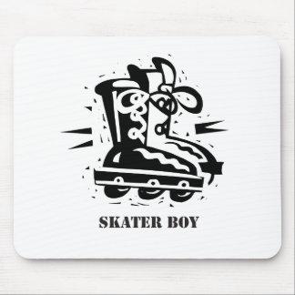 Skater Boy - Rollerblading Mouse Pad