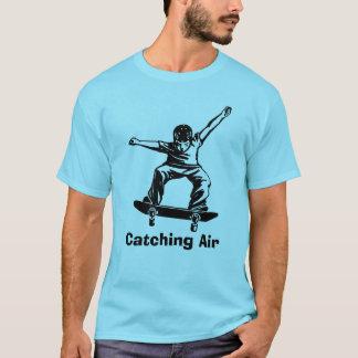 Skater Boy Skateboarder Catching Air T-Shirt