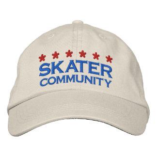 SKATER COMMUNITY - 001 BASEBALL CAP