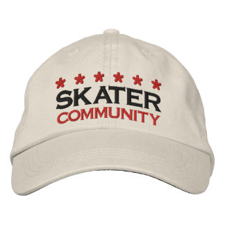 SKATER COMMUNITY - 002 EMBROIDERED CAP