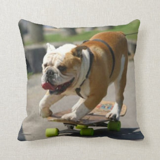 Skater Dog - Pillow