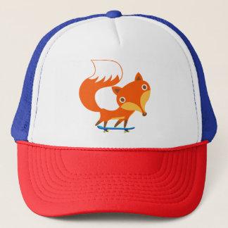 Skater Fox Trucker Hat