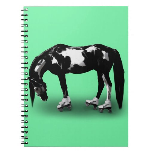 Skater Horse Note Book