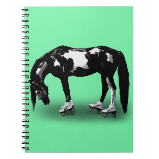 Skater Horse Note Book