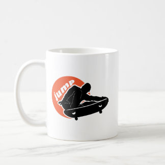 Skater Jumping at Sunset Coffee Mug