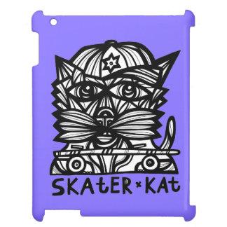 """Skater Kat"" 631 Art iPad Case"