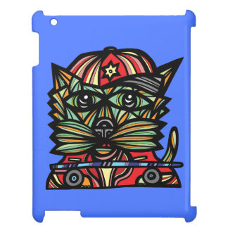 """Skater Kat"" iPad/iPad Mini, iPad Air Case iPad Covers"